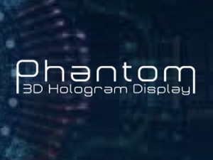 3Dホログラムディスプレイ「Phantom」